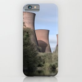 The Ironbridge Power Station iPhone Case