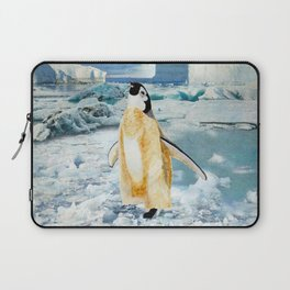 Penguin Chick In The Arctic Laptop Sleeve