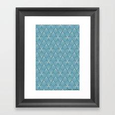 Moroccan Mosaic Framed Art Print