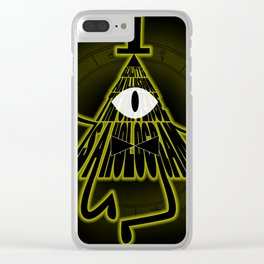 Bill Cipher, Reality is an illusion Clear iPhone Case