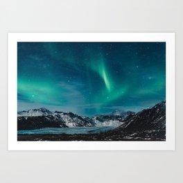 Chasing Aurora Art Print