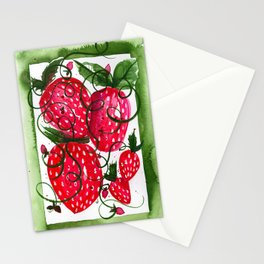 Berries on Parade Stationery Cards