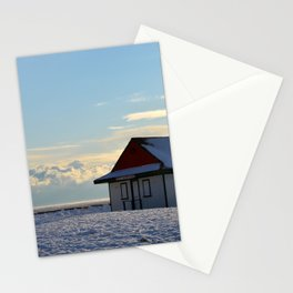 Winter Beach Stationery Cards