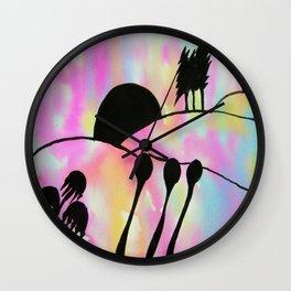 Darken After Colour Wall Clock