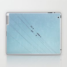 on a blue day Laptop & iPad Skin