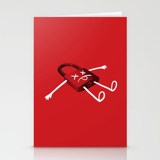 The Deadlock Stationery Cards