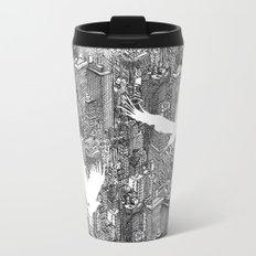 Ecotone (black & white) Travel Mug