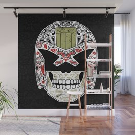 Day of the Dredd - Black Variant Wall Mural