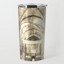 Rochester Cathedral Vintage  Travel Mug
