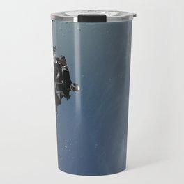 Apollo 9 - Lunar Module Over Earth Travel Mug