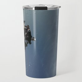 Apollo 9 - Lunar Module Over Earth Travel Mug