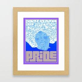BlackIsBeautiful Framed Art Print