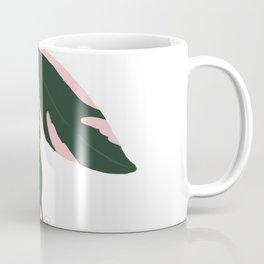 Stromanthe Triostar Digital Illustration Coffee Mug