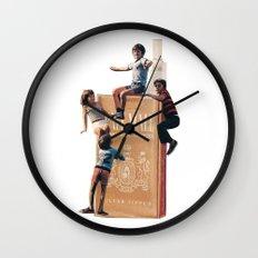 The Cigarette Gang Wall Clock