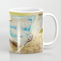 cape cod Mugs featuring cape cod blue by Finch & Maple