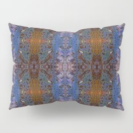 ink blot and smudge print lacey damask pattern Pillow Sham