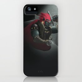 The King of Evil iPhone Case