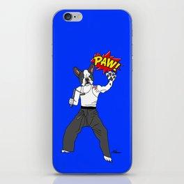 PAW POW - Kungfu Dog iPhone Skin