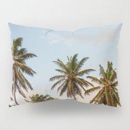 Sky beach palmier Pillow Sham