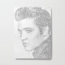 Elvis: Suspicious Minds Metal Print