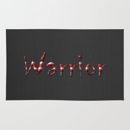 Warrior red 6 Rug