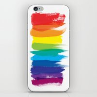 pride iPhone & iPod Skins featuring Pride by Blind River