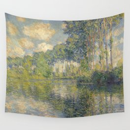 """Claude Monet """"Poplars on the Epte"""" Wall Tapestry"""