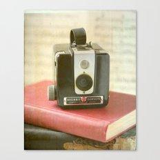 Vintage Brownie Camera Canvas Print