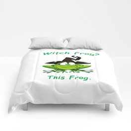 Witch Frog?  This Frog. Comforters