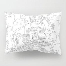 Picasso Line Art - Guernica Pillow Sham