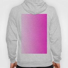 White and Pink Gradient 044 Hoody