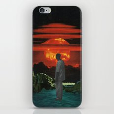 The World Was Beautiful On Fire iPhone & iPod Skin