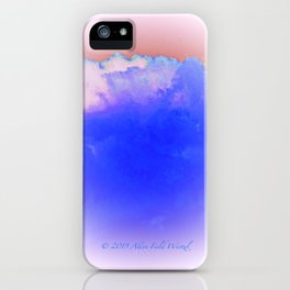 """Morning Sky #21"" Print iPhone Case"