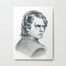 Anakin Metal Print