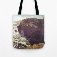south africa Tote Bags featuring Africa by KIEKKMA