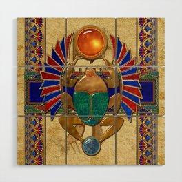 Sarcophagus 3d Egyptian Folk Art Wood Wall Art