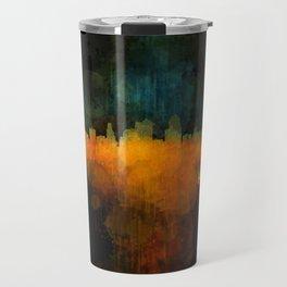 Kansas City Skyline UHq v4 Travel Mug