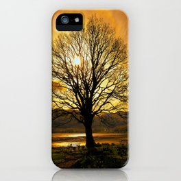 Tree of Fire iPhone Case