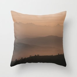 Mountain Love - Landscape and Nature Photography Throw Pillow