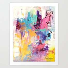 The Life After Art Print