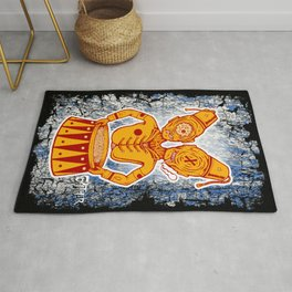 Conjoined Twins Circus Freaks Rug