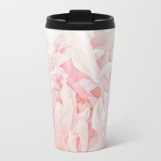 Peony Heart Travel Mug