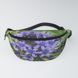 Portuguese Squill Flower Fanny Pack