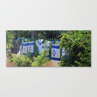 israel Canvas Prints featuring Israel by Gal Ashkenazi