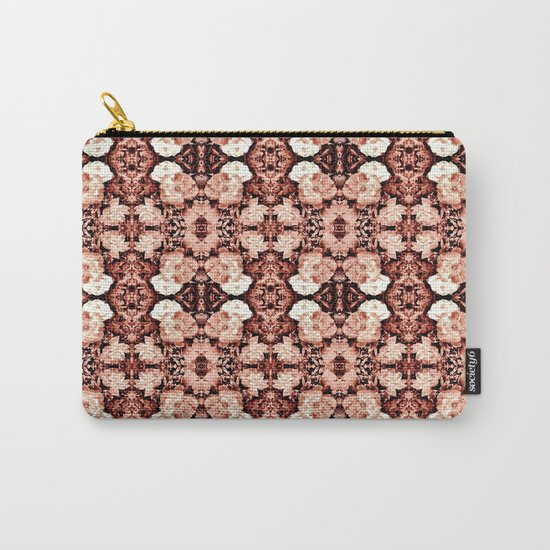 Old Rose Roses Seamless Pattern Carry-All Pouch