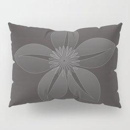 Cute Sheer Jasmin Flower Pillow Sham