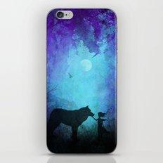 Wolf Whisperer iPhone & iPod Skin