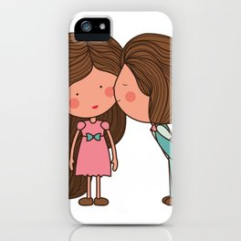 I love you 3 iPhone Case