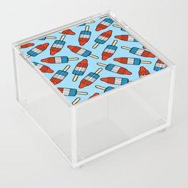 Rocket Popsicle Pattern Acrylic Box