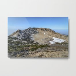 Hallasan Mountain Metal Print